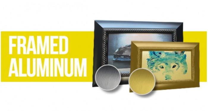 Framed Artistic Aluminum