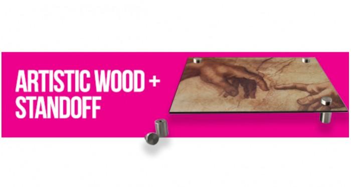 Artistic Wood + Standoff