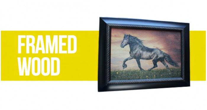 Framed Artistic Wood