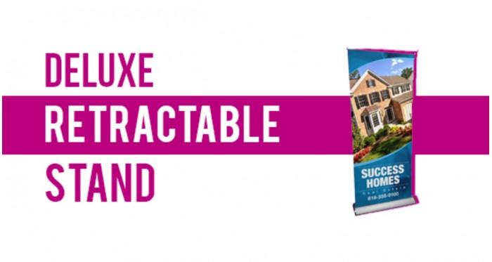 "24x79"" | Deluxe Retractable Stand"