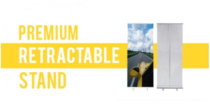 "33x81"" | Premium Retractable Stand"